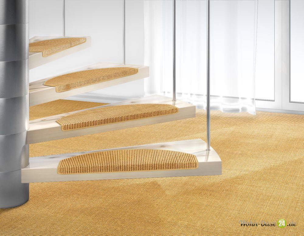 Stufenmatte Mara Sisal von DEKOWE 26x65cm 003 natur